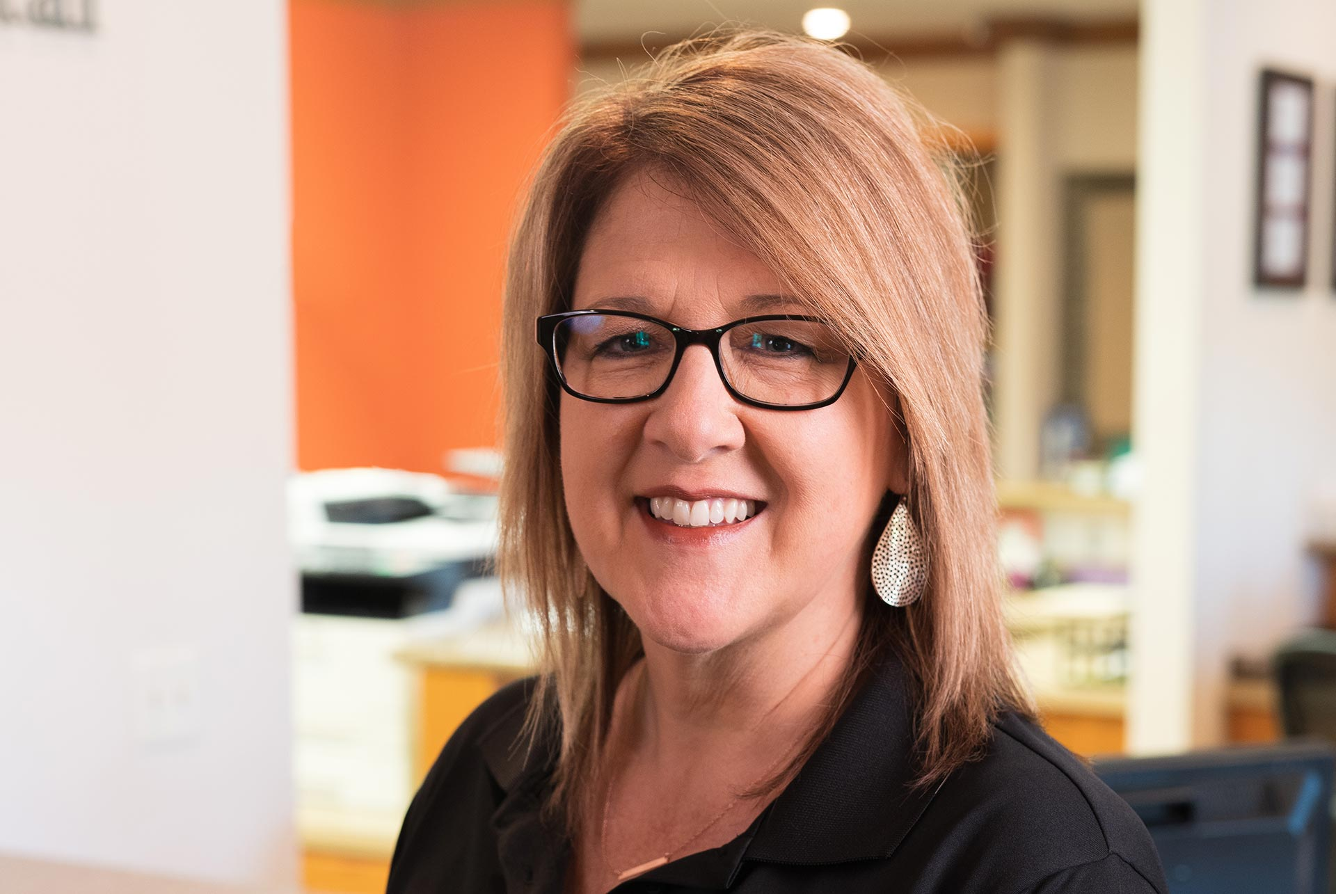 Kay Thompson, Office Manager